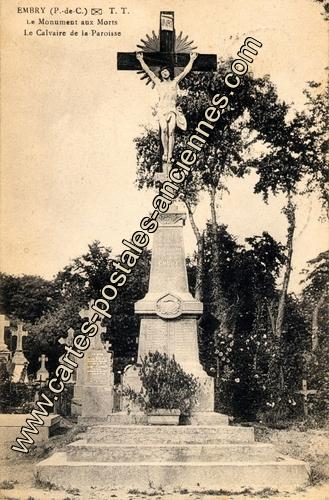 Monument aux morts d'Embry