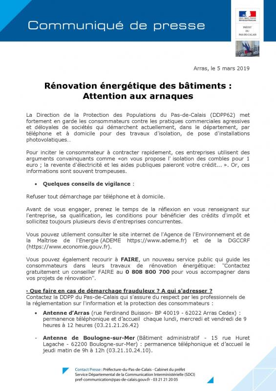 Cp attention aux arnaques renovation energetique des batiments page 001